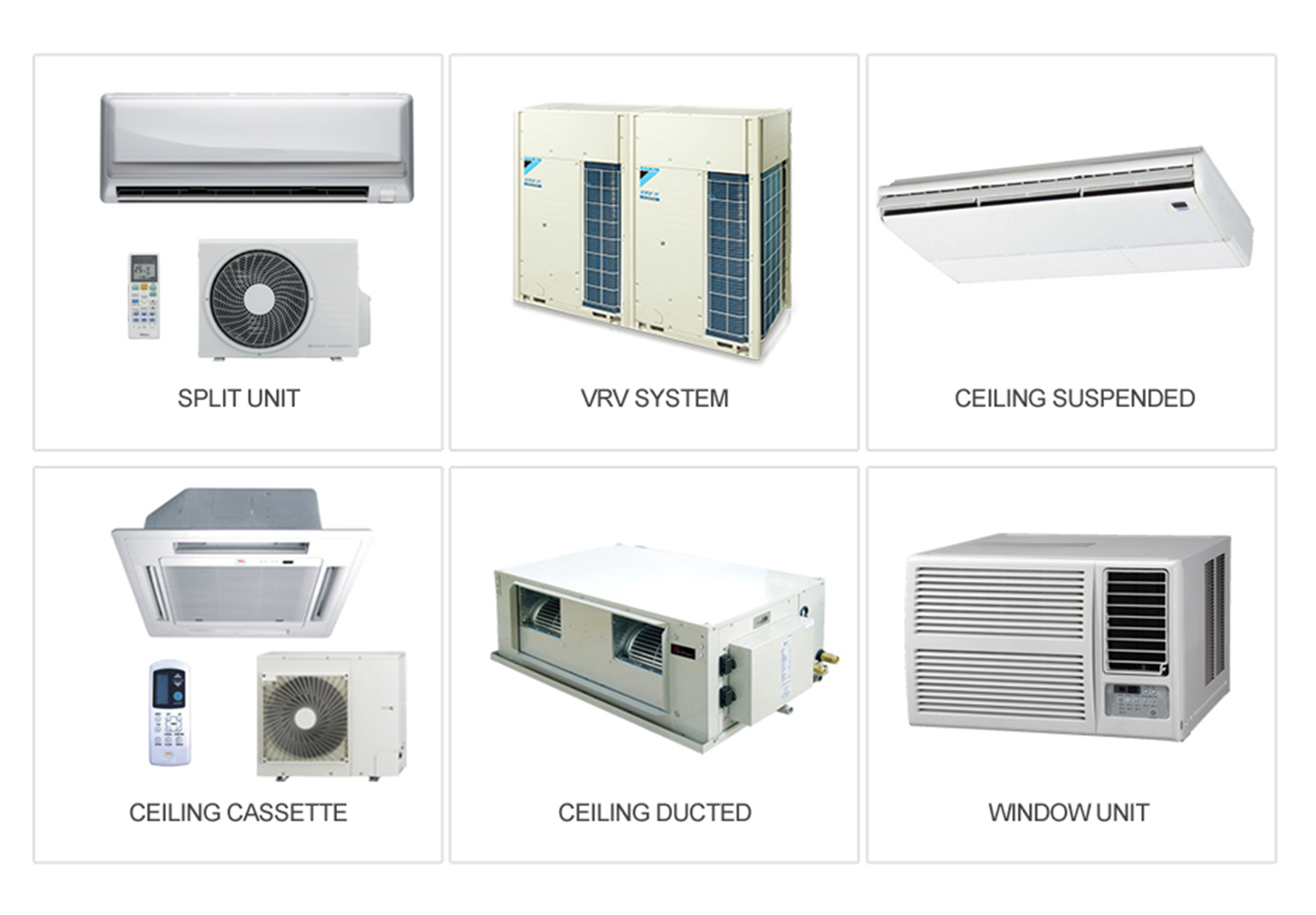 Deals in all Types of Air Conditioner in Muscat Oman