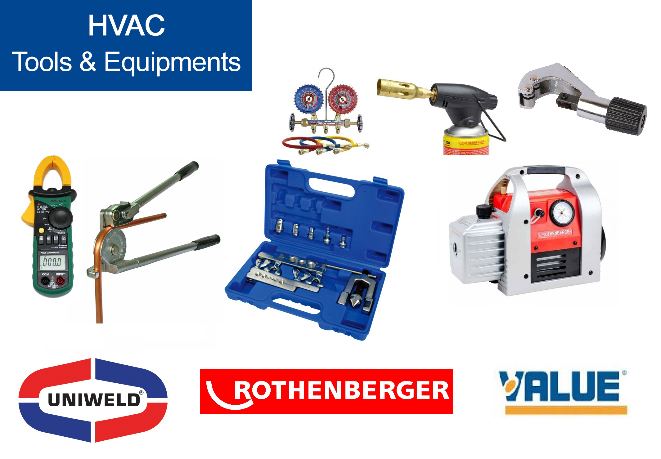 HVAC Tools & Equipments Supplier Muscat Oman