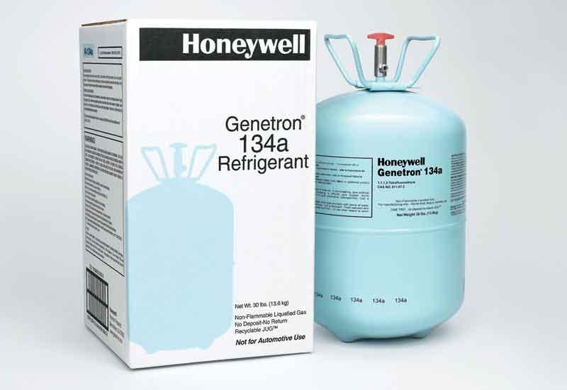 Honeywell Refrigerants Gas Genetron R134a 13 6kgs Usa