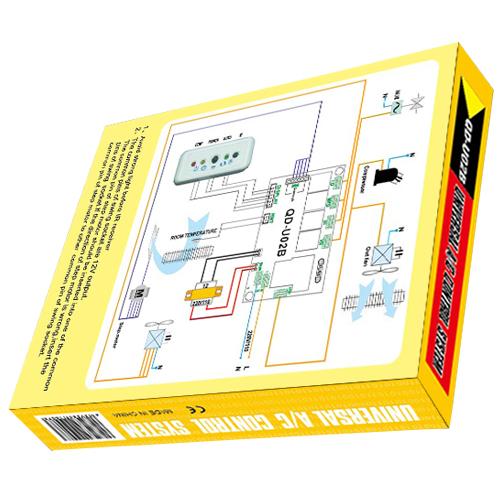 QD-U02B Universal Air Conditioner PCB Board AC Control System