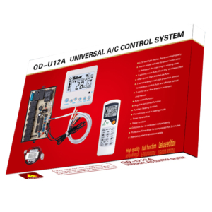 QD-U12A Universal Air Conditioner PCB Board with AC Remote Control System