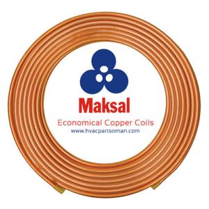 Maksal Copper Coils Pipes Economical Dealers Oman