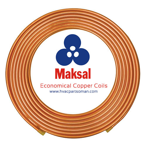 Maksal Copper Coils Pipes Economical Dealers Oman